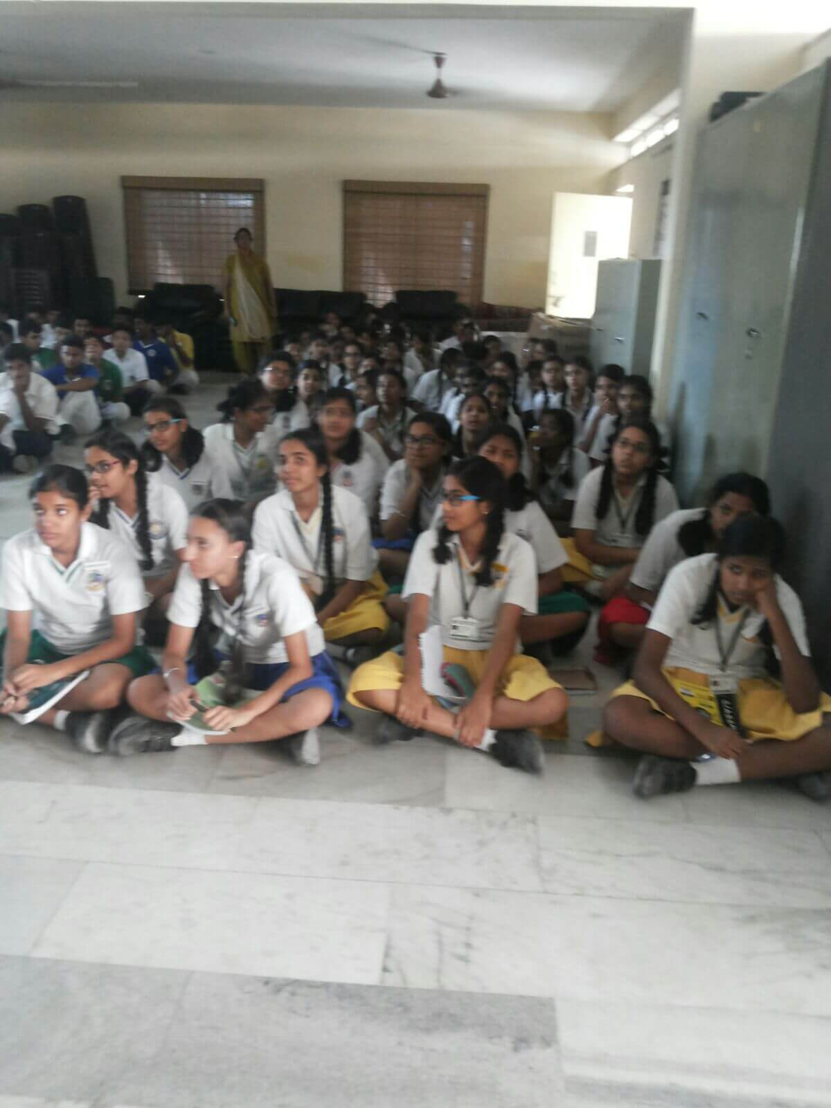 Lecture in Pallavi Model School