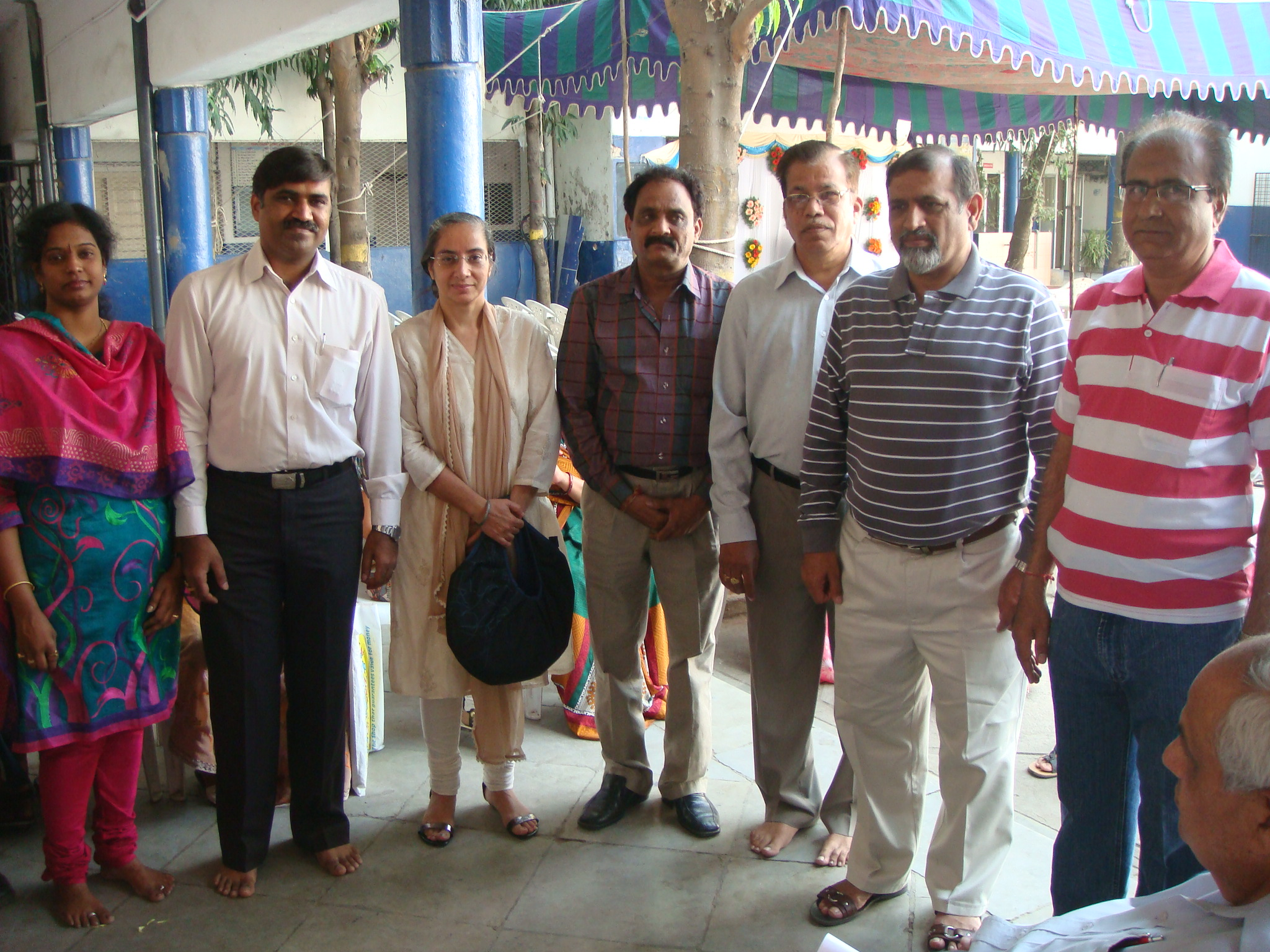 CAMP AT GUJARATI SEVA MANDAL -2011