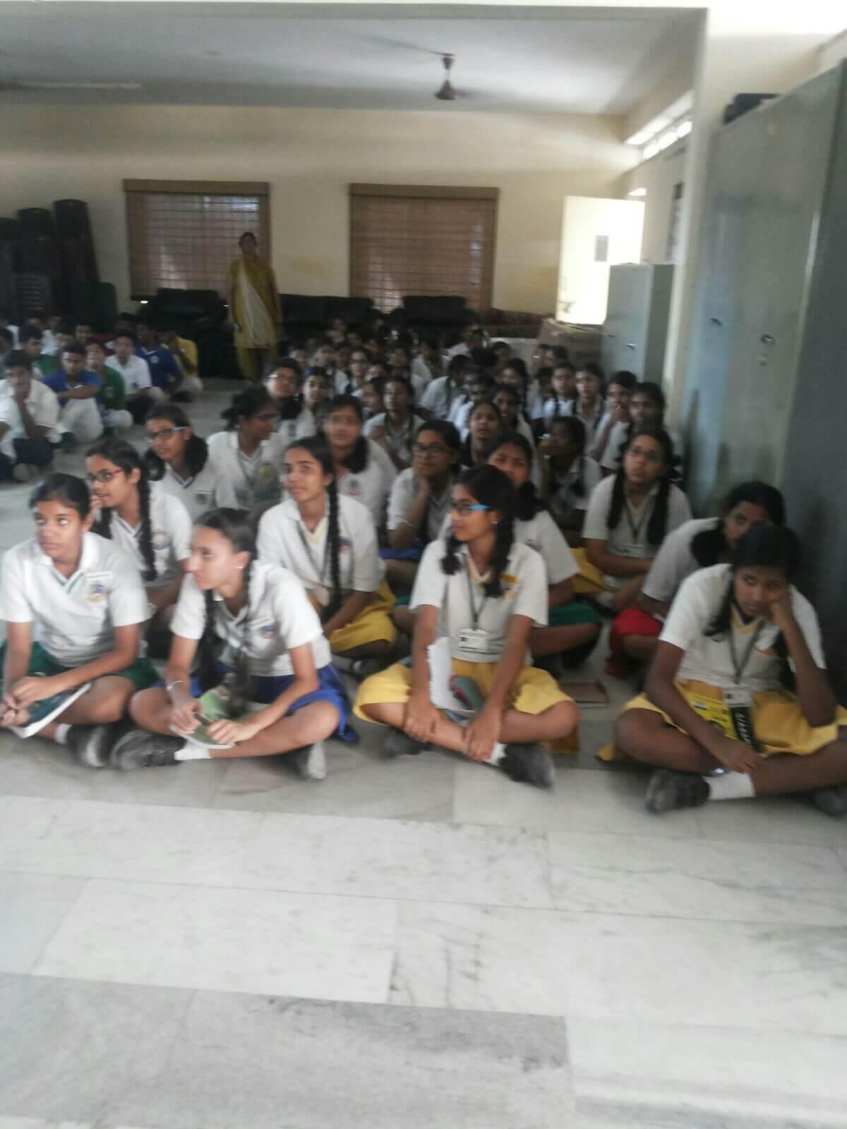 Lecture in Pallavi Model School
