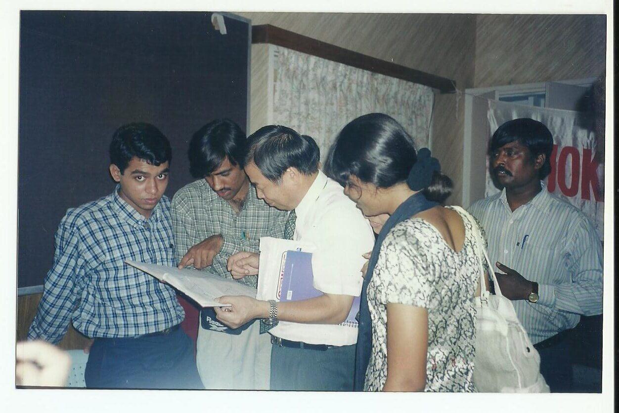 Journey of Sujok 1999 to 2000