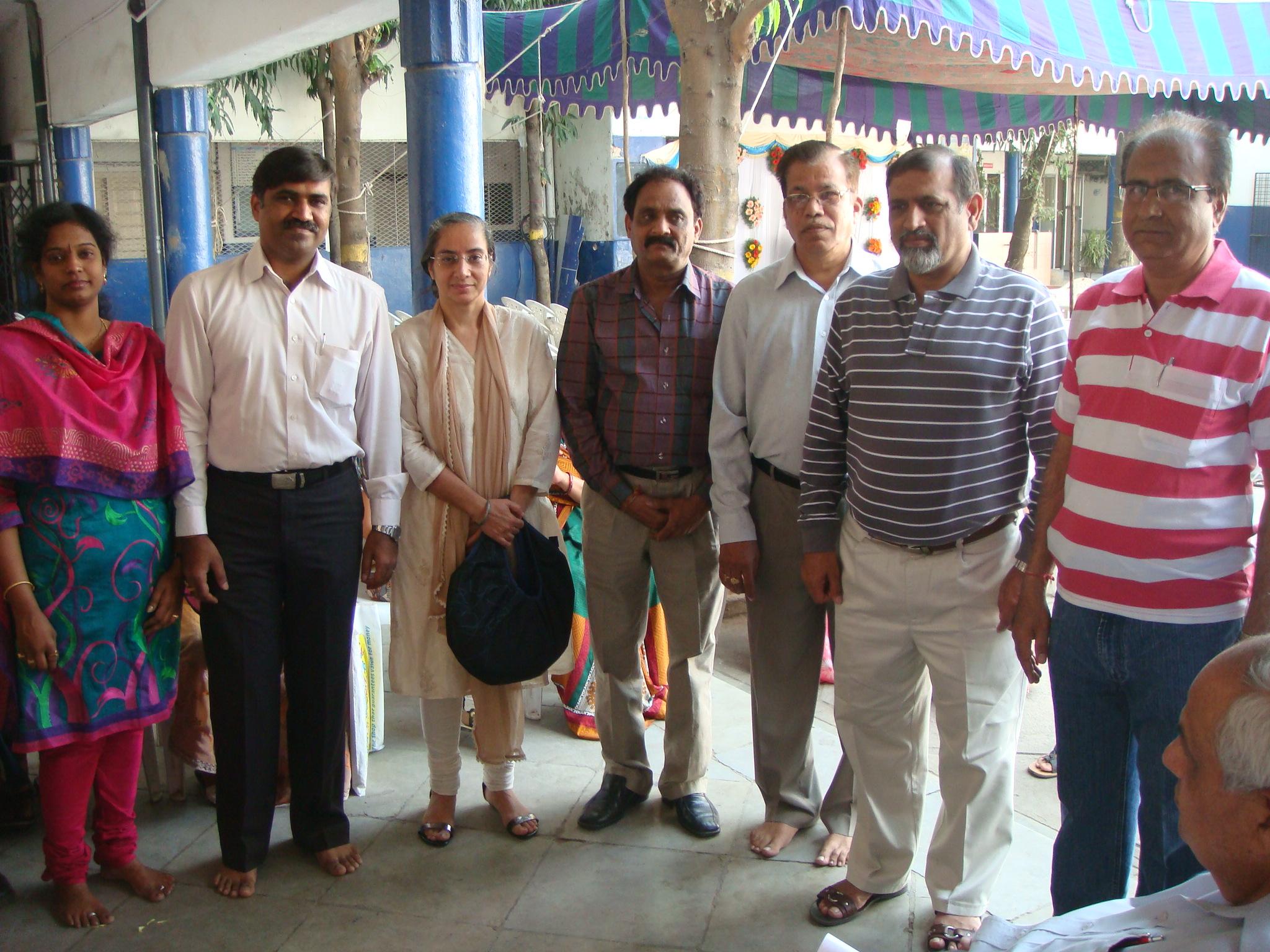 CAMP AT GUJARATI SEVA MANDAL -2011