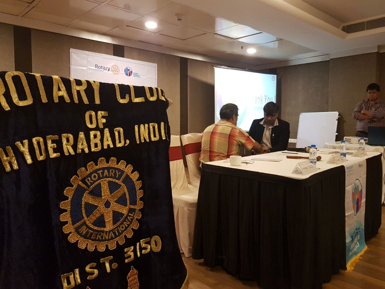 LECTURE IN ROTARY CLUB